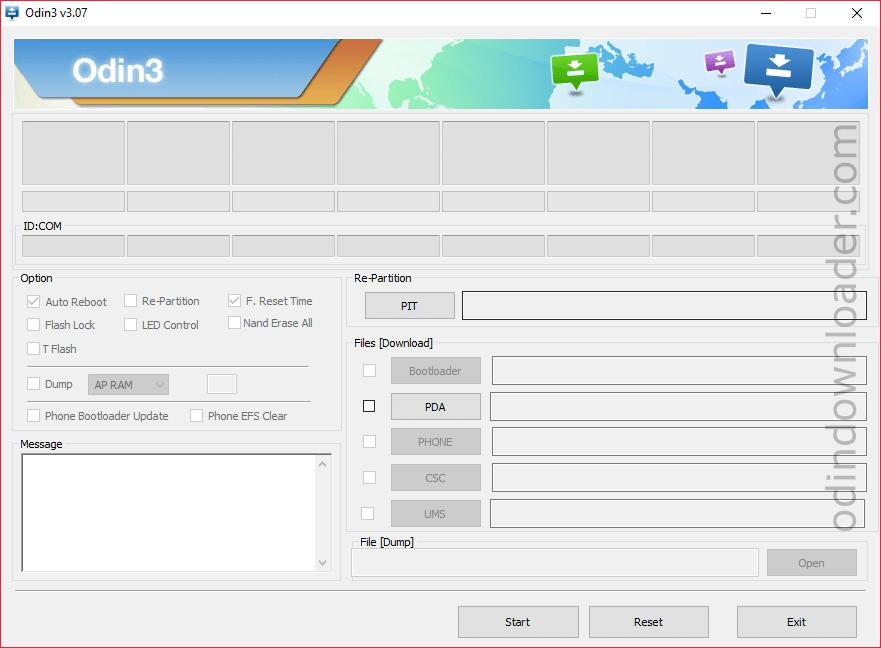 Samsung Odin3 v3.07