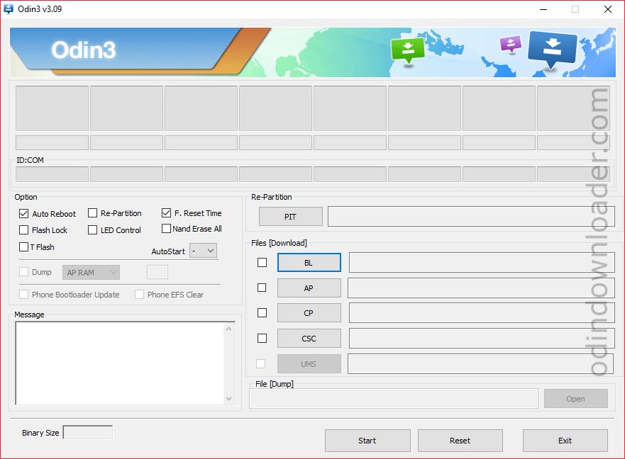 Samsung Odin3 v3.09