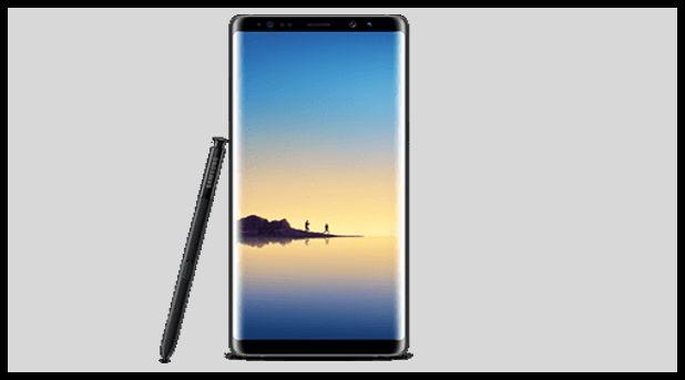 Samsung Note 8 Details