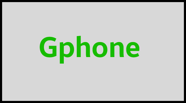 Gphone flash file