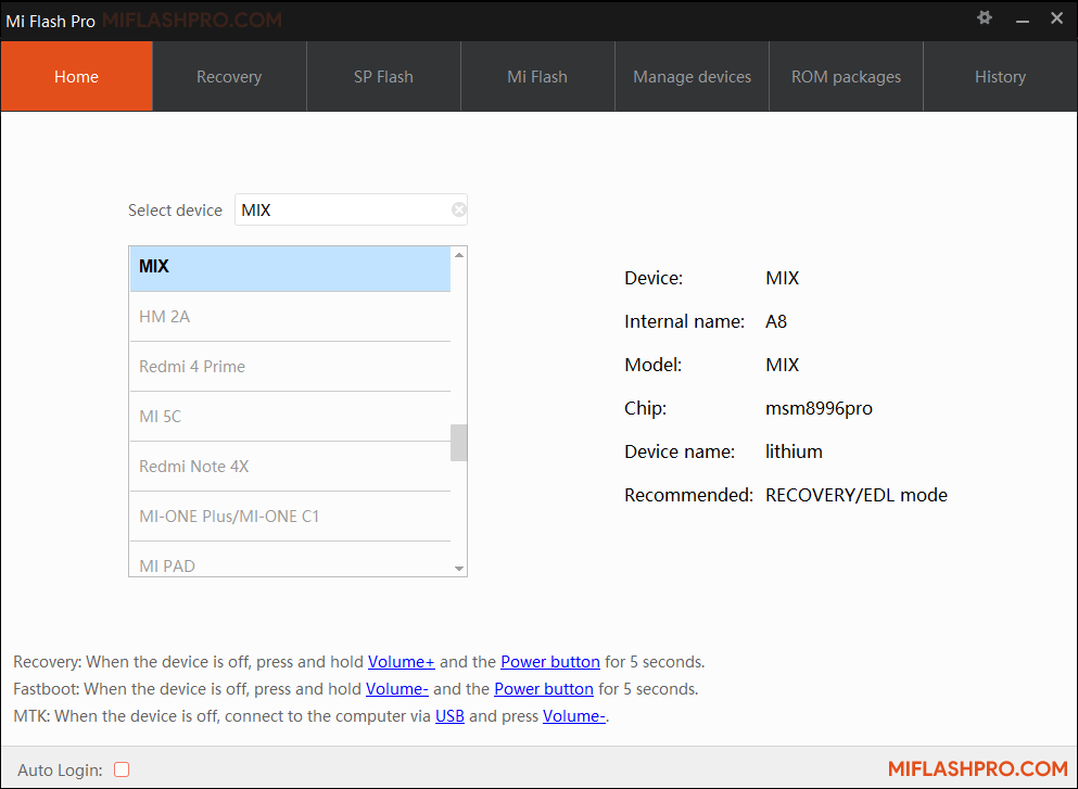 Mi Flash Pro v4.3.1108.24