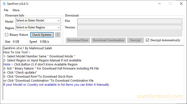 SamFirm v0.4.1