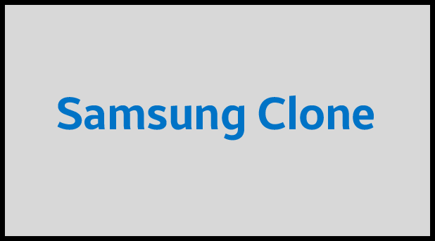 Samsung Clone flash file