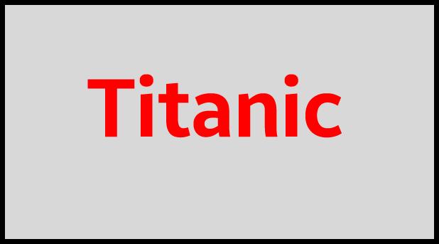 Titanic flash file
