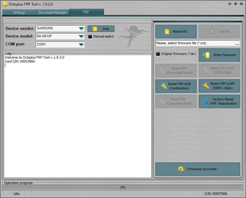 Octoplus FRP Tool Installer v1.9.3