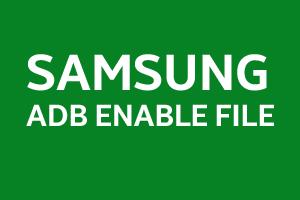 SAMSUNG-ADB-ENABLE