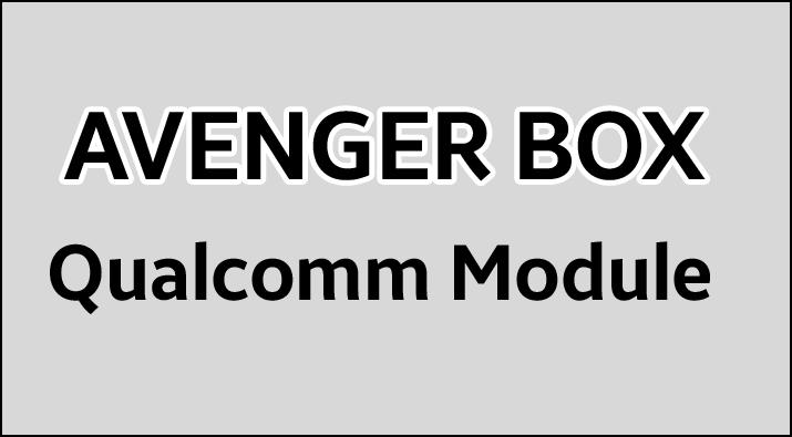 Avenger Qualcomm v0.12.8