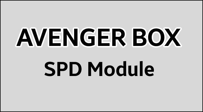 Avenger SPD Module v1.2