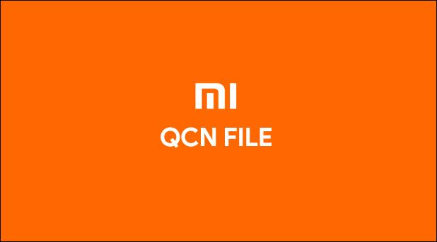 Xiaomi MI A1 QCN File