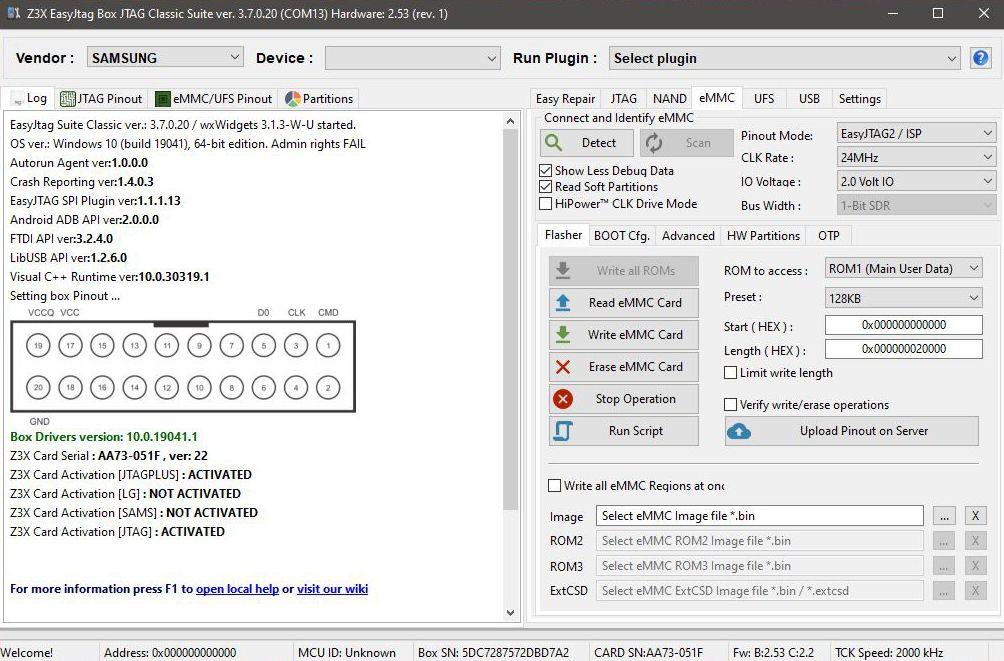 Easy Jtag Tool (Classic Suite) 3.7.0.20