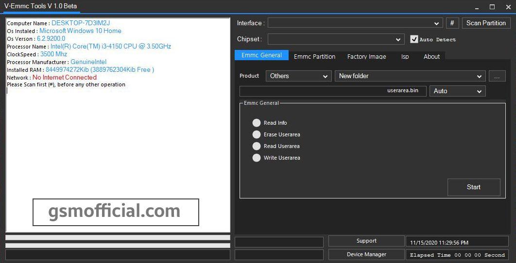 V-Emmc Tool v1.0 beta