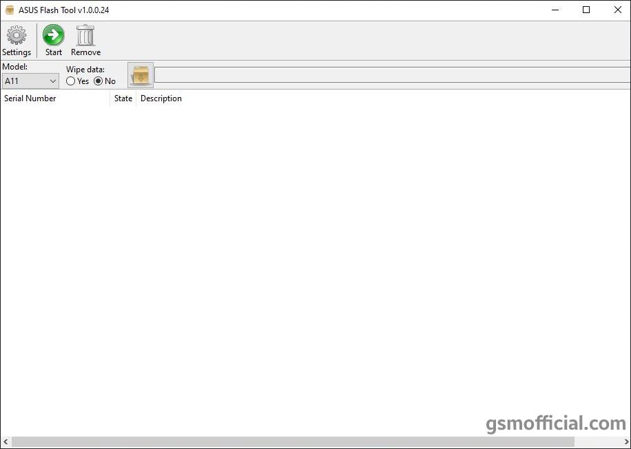 Asus Zenfone Flash Tool v1.0.0.24