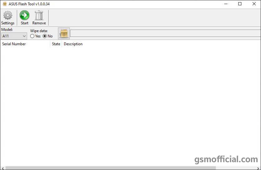 Asus Zenfone Flash Tool v1.0.0.34